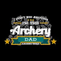 Bogenschießen Dad Vater Shirt Geschenk Idee