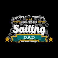 Segeln Dad Vater Shirt Geschenk Idee