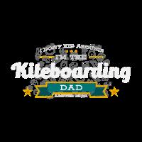 Kiteboarding Dad Vater Shirt Geschenk Idee