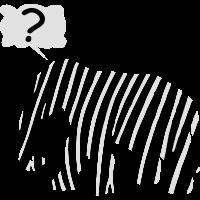 Zebra Elefant Fabelwesen Tier, verzauberung sehr Fragwürdig