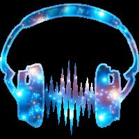 Kopfhörer Musik Galaxie Galaxy