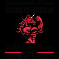 muskulöses Einhorn. Einmal Leipzig, immer Leipzig!