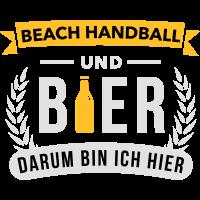 Beach Handball und Bier darum bin ich hier - Team