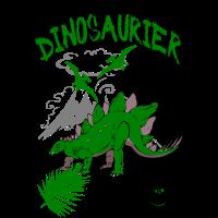 Lieblings Dinosaurier Kindershirt
