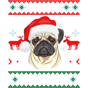 Merry Pugmas Funny Pug Christmas Ugly Sweater