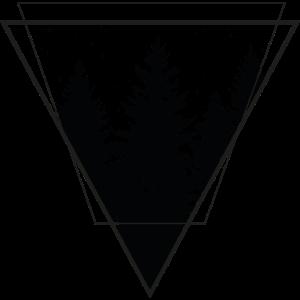wald dreieck forrest