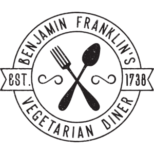 Franklins Vegeterian Diner Vintage-Stil Geschenk
