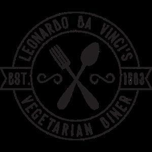 Da Vinci Vegeterian Diner Vintage-Stil Geschenk