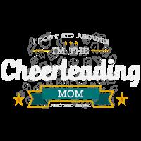 Cheerleading Mom Mutter Shirt Geschenk Idee