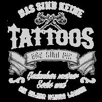 Das sind keine Tattoos das sind die Gedanken meine