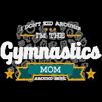 Gymnastik Mom Mutter Shirt Geschenk Idee