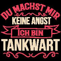 Tankwart Tankstelle Beruf T-Shirts Geschenk
