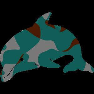 GREECE Ελλάς DOLPHIN δελφίνι - CAMO / CAMOUFLAGE