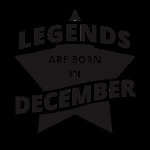 Legends Shirt - Legends are born in december