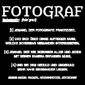 Fotograf Definition