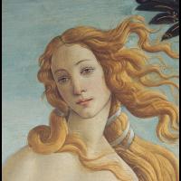 Die Geburt der Venus von Botticelli (Ausschnitt)