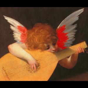 """""""Musizierender Engel"""" von Rosso Fiorentino"""
