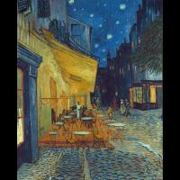 Caféterrasse am Abend in Arles - Van Gogh