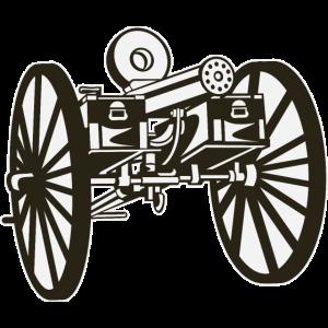 Die Gatling-Pistole