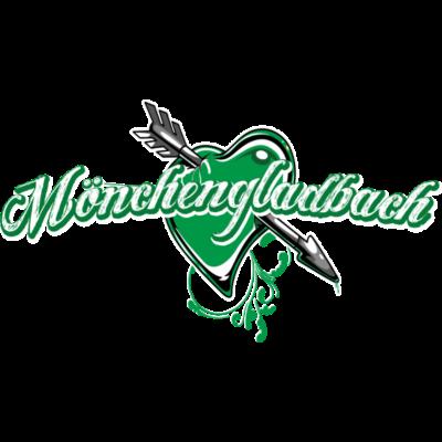 mönchengladbach - Love Mönchengladbach - tribal,graffiti,fussball,fohlen,flagday,fans,fahnentag,arena,Ultras,Tattoo,T-Shirt,Stadion,Shirt,Mönchengladbach,Flagge,Fanshirt,Fankurve,Fan,Fahne