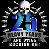 Jubiläum Metalhead 25 B