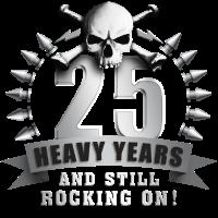 Jubiläum Metalhead 25 C