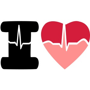 i love big signal heart beat
