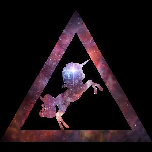 Galaxy Unicorn Trianglep