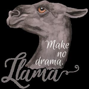 Make no drama, Llama