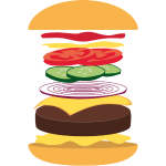 explodedburger