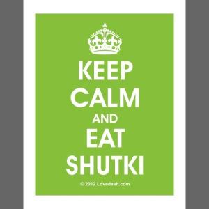 """Keep Calm Series: """"Shukti"""""""