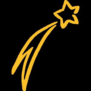 Sternschnuppe Stern Bethlehem Weihnachten Geschenk