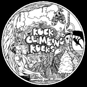 Rock Climbing Rocks - Kletter T-Shirt