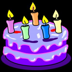 Der Geburtstagskuchen