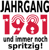 Jahrgang 1980 Geburtstagsshirt: jahrgang_1981