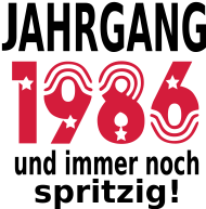Jahrgang 1980 Geburtstagsshirt: jahrgang_1986