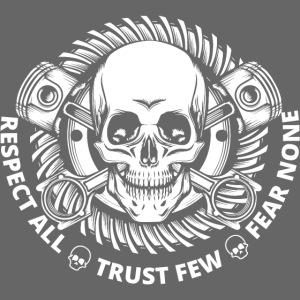 No Fear Skull