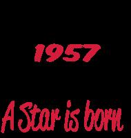 Jahrgang 1950 Geburtstagsshirt: 1957