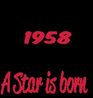 Jahrgang 1950 Geburtstagsshirt: 1958