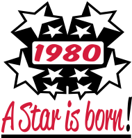 Jahrgang 1980 Geburtstagsshirt: 1980