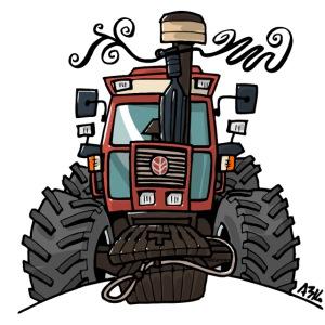 0449 Brown Traktor