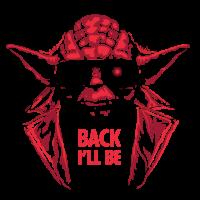 Yoda back i'll be - Zurück ich bin