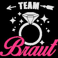 Team Braut - JGA - Polterabend