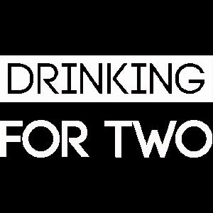 Trinken für zwei T-Shirts