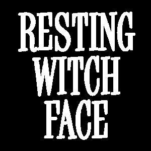 Resting White Witch Gesicht