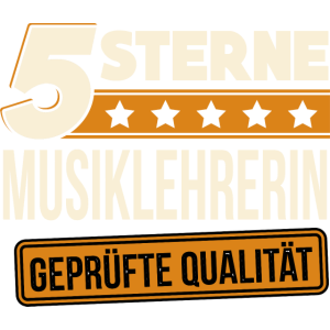 Musiklehrerin Musikerin Musikantin Musik Geschenk