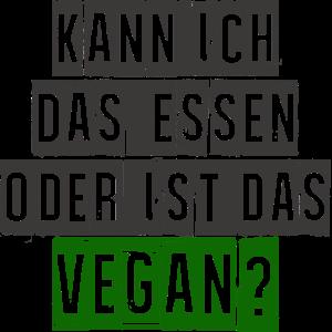 VEGAN - Kann ich das essen oder ist das vegan?