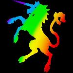 Eenhoorn regenboog