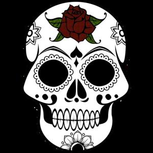 Día de los Muertos Tag der Toten Totenkopf 4