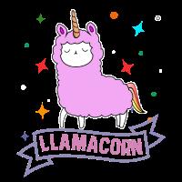 Llamacorn Cute Unicorn Llama